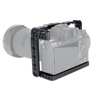 Image 2 - NICEYRIG DSLR soporte jaula de cámara para Sony A7MIII a7m3 A7RIII a7r3 A7RII a7r2 A7SII a7s2 A7II A7S A7R A7 dslr Rig Cámara Rig