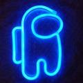 Led Neon Lampe Spiel Neon Zeichen Licht Astronaut Neon Wand Lampe Kühlen Raum Decor Nacht Licht Geschenke Für Geburtstag Party