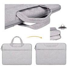 Przenośna torebka teczka torba na laptopa rękaw dla Lenovo Yoga 520 530 14 Cal Case dla 520 14 530 14 15 13 torby etui na notebooka