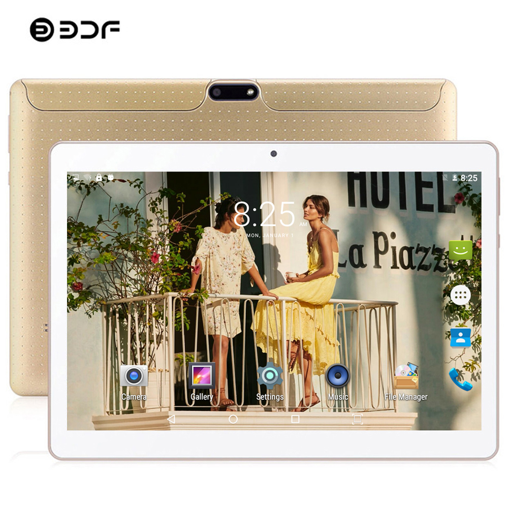 BDF 10 Inch Tablet Quad Core Tablet Pc Android Original Design SIM 3G Phone 2020 Tablet IPS WiFi 32GB ROM Android Tablets 10.1