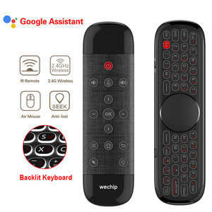 Новинка Q40 Air Mouse W2 Pro голосовой пульт 2,4G Беспроводная мини-клавиатура гироскоп Датчик ИК-обучения для Смарт ТВ-приставки/мини-ПК