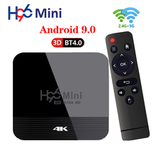 Caja de Android H96 Mini H8 TV Box Android 9,0 2GB 16GB RK3228 2,4G/5G Wifi BT4.0 4K Google Netflix, Youtube Hulu reproductor de medios