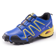 Foreign trade men's hiking shoes non-slip wear-resistant cross-country running shoes speed 3 sports men's shoes travel shoes fas salomon shoes speed cross 4 cs sneakers men cross country shoes black red speedcross 4 jogging shoes strong grip running shoes