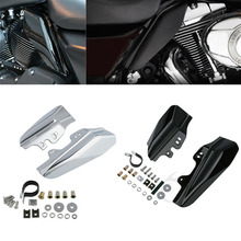 Motorcycle Under Seat Engine Mid-Frame Air Deflectors For Harley Touring Road King Road Glide Electra Glide 2001-2008