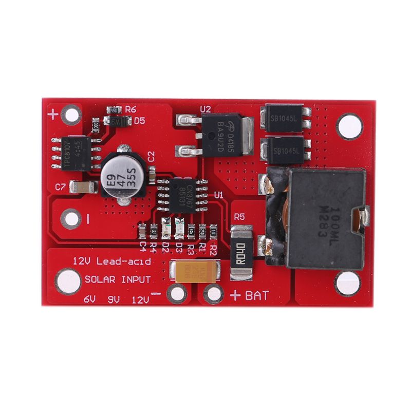 12v mppt painel solar controlador de 3 series modulo de carregamento de chumbo acido de alta