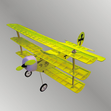 Светильник с деревянным фиксированным крылом, модель самолета с дистанционным управлением, модель самолета, электрическая модель самолета Foker 5