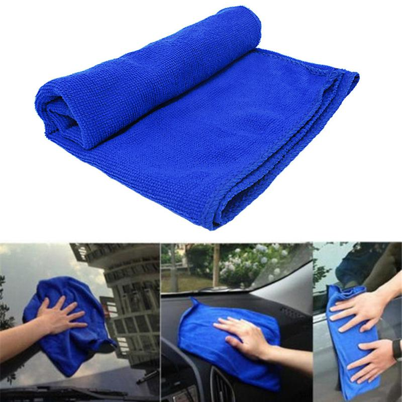 Franchise Car Soft Microfiber Cleaning Towel Car Wash Dry Clean Polish Cloth Motorcycle Detailing Care Kitchen Housework Towel