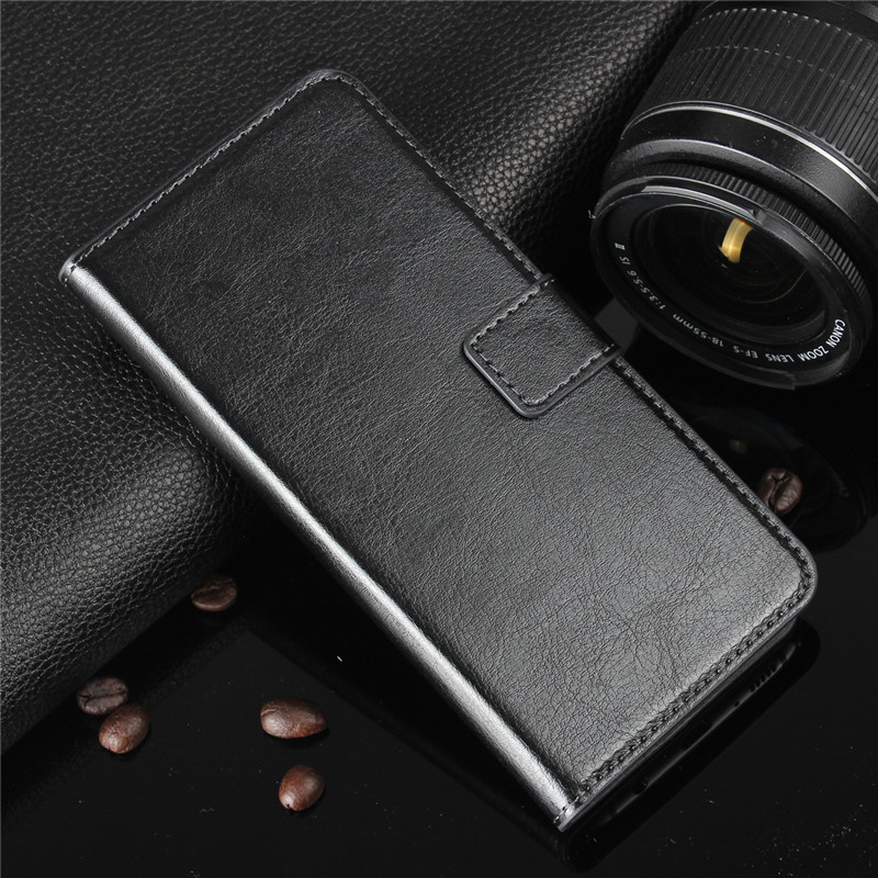 Leather Soft Case For Samsung Galaxy A7 A9 A6 A8 2018 A3 A5 A7 2017 S8 S9 Plus S3 S4 S5 S6 S7 Edge Flip Wallet Drop-Proof Cover