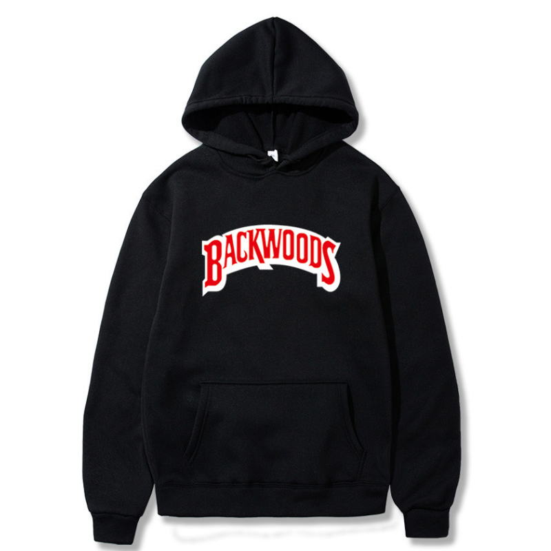 New Brand Men Sportswear Fashion Brand Backwoods Print Mens Hoodies Pullover Hip Hop Mens Tracksuit Sweatshirts Hoodie Sweats