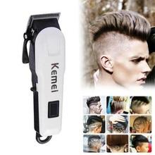 Hair-Trimmer Kemei Multi-Function Cordless Sharp Rechargeable Waterproof KM-809A Man