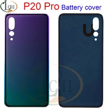 For Huawei P20 Pro Battery Cover P20 Rear Door Mate 20 Lite Housing Back Case Phone For Huawei P20 Lite Battery Cover