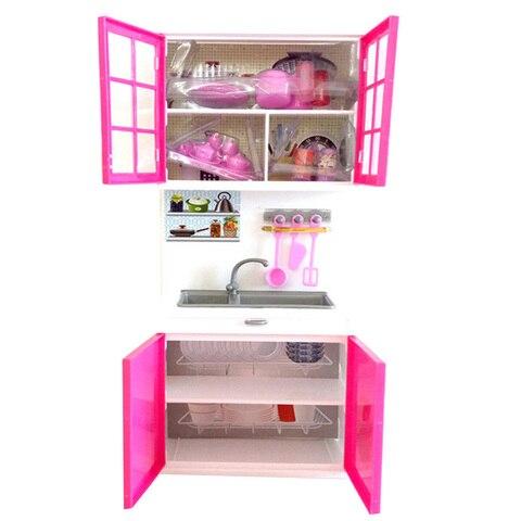 cozinha ferramentas de simulacao mini bonecas