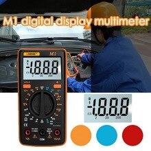 M1 デジタルマルチメータバックライトテスタープロフェッショナル multimetro diy ブザーダイオードトライオード ac/dc マルチメータ A830L/830L ポータブル