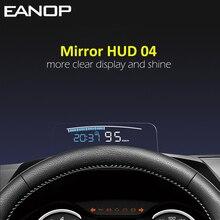 EANOP HUD Specchio 04 Car Head up display Parabrezza Velocità Proiettore di Sicurezza di Allarme temperatura Dellacqua di Velocità Eccessiva RPM Tensione