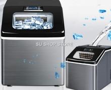 лед машина коммерческий чай магазин небольшой площади 25кг дома автоматическая делая