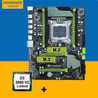 V2 49 HUANAN X79 motherboard CPU kit X79 LGA2011 motherboard CPU Xeon E5  2660 V2(10 cores/20 threads) all tested before shipping