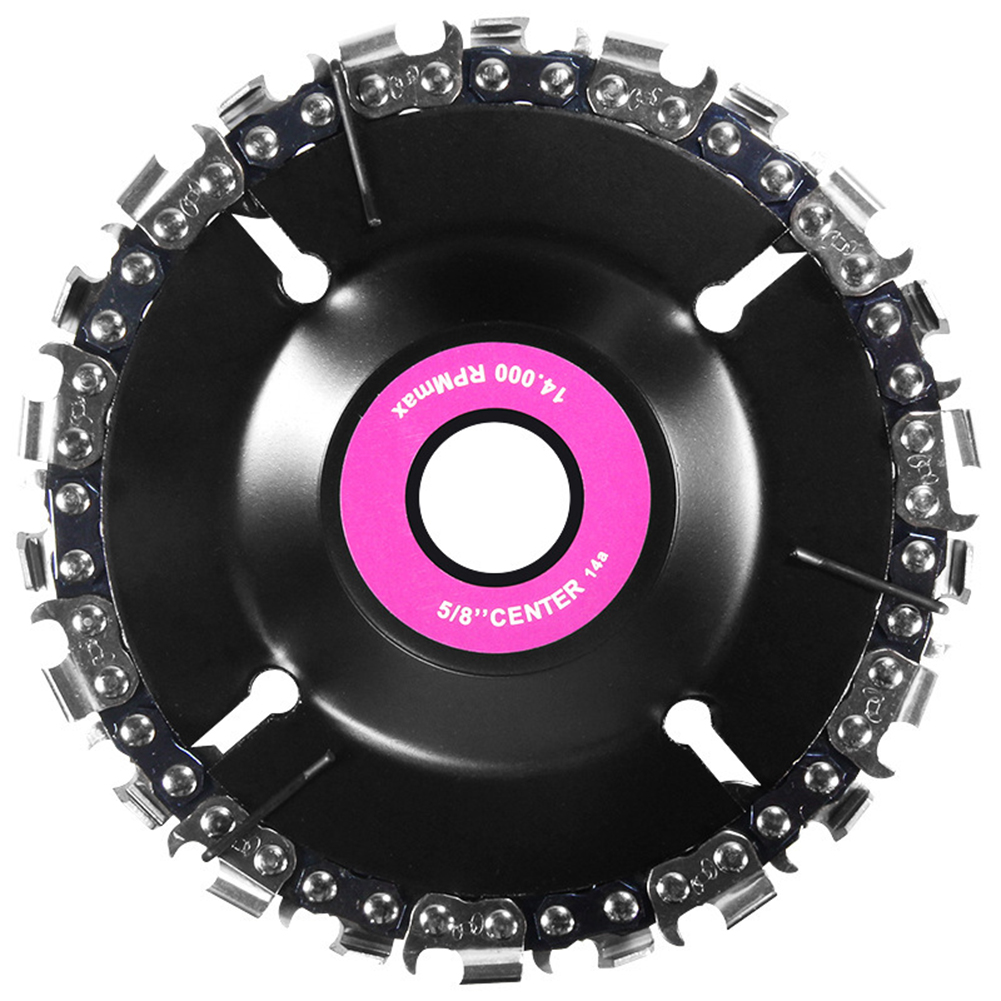 4 Inch Chain 22 Tooth Fine Cutting Chain Disc Set For 100/115 Angle Grinder