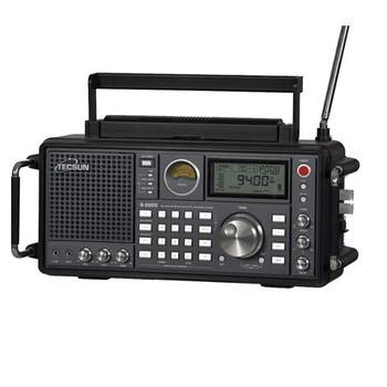 TECSUN S-2000 HAM Portable Radio SSB Dual Conversion PLL FM/MW/SW/LW Air Band Amateur 87-108MHz/76-108 MHz Internet Radio 4