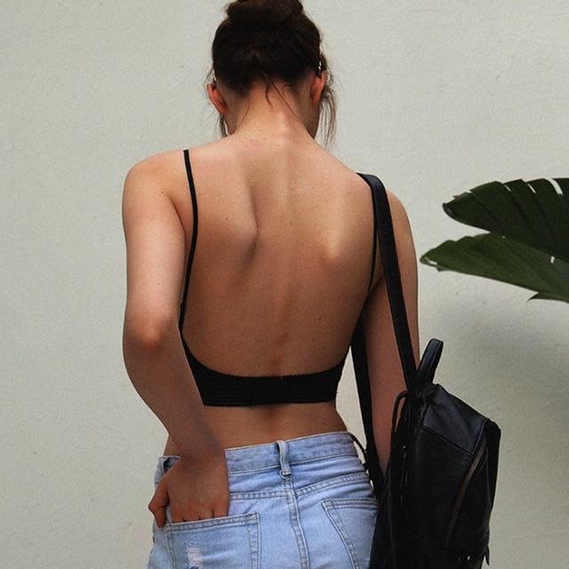 Backless Strapless Bra (Push Up) Underwear