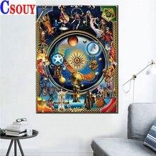 Рукоделие Иисуса полная Алмазная картина вечерние алмазные мозаики