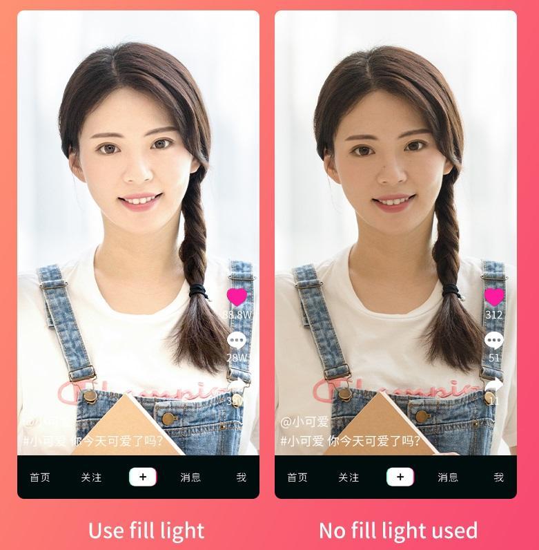 Lâmpada de iluminação portátil retrátil dobrável da luz da suficiência de 29cm