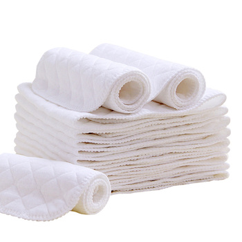 Newborn Diapers Baby Ecological Cotton Pad baby Products Washed Recyclable No Folding Soft Absorbent