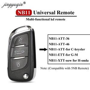 jingyuqin 5X KEYDIY Original KD900/KD-X2 Key Programmer NB11 Universal Multi-functional DS Style Remote For All B And NB Series(China)