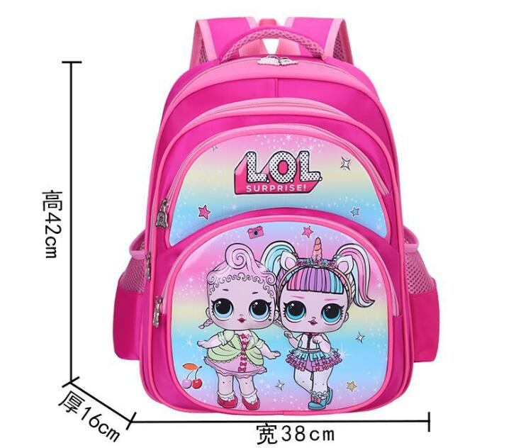 Lol Doll новая детская школьная сумка, рюкзак для начальной школы, милый детский рюкзак с мультяшным принтом, детский сад