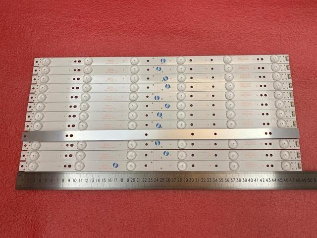 새로운 12 PCS 6LED 490mm LED 백라이트 스트립 50UH5500 50UH5530 5835 W50002 2P00 5800 W50002 0P00 6P10 2P00 6P00 APT LB14023