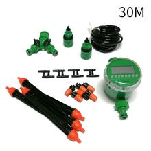 Automatic Micro Drip Irrigation System Garden Irrigation Spray Self Watering Kits with Adjustable Dripper Pipe Irrigation