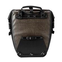 Outdoor Bike Pannier Bag Large 27L Capacity Waterproof Cycling Rear Seat Bag For Mountain Road Bike bicicleta cycling bicycle цена