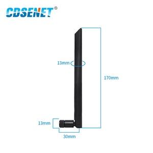 Image 3 - 2pc/lot Wifi Antenna 433MHz High Gain 3dBi SMA Interface TX433 JKD 20 Omnidirectional antena wifi Omni