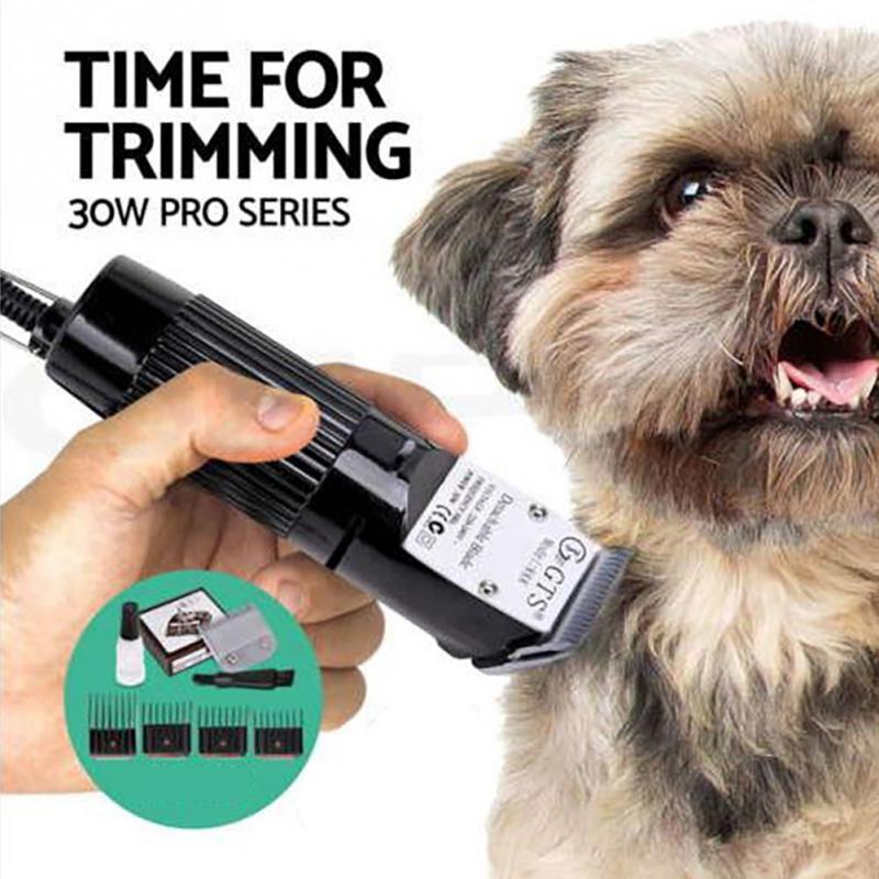 Coupe de cheveux silencieuse robuste coupe-bordure détachable coupe-chien rasoirs électriques tondeuse à cheveux pour animaux de compagnie rasoir chat outil de toilettage