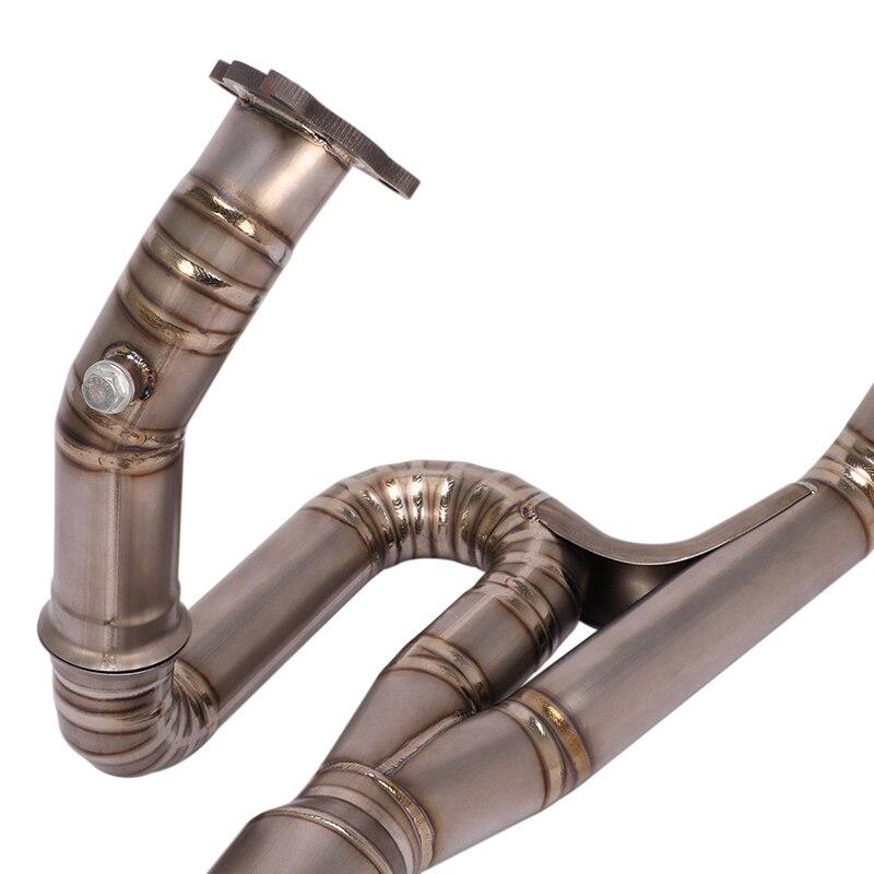 Передняя средняя Соединительная труба без потерь Хвостовая 51
