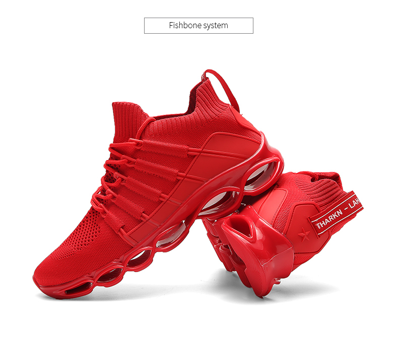 H5a79ed747bbf41c287b4e4536bd5cc66f - New Fishbone Blade Shoes Fashion Sneaker Shoes for Men Plus Size 46 Comfortable Sports Men's Red Shoes Jogging Casual Shoes 48