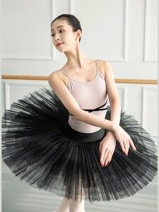 Image 3 - 여자 발레 레오타드 발레리나 파티 민소매 댄스 체조 점프 슈트 발레 의상 Turnpakje Bodysuit for Tutu Dancerwear