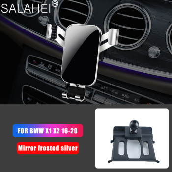 GPS Gravity Car Mobile Phone Holder Car Phone Holder For BMW X1 F48 X2 F39 2016-2020 Air Vent Mount Cell Phone Holder Stand image