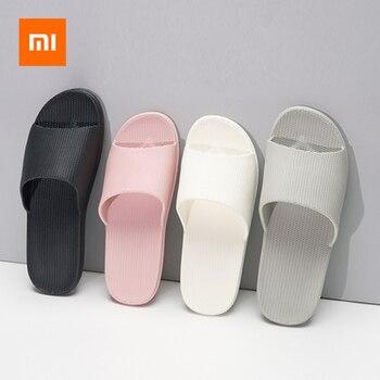 Xiaomi Haushalt Pantoffel EVA Weiche Anti-slip Slipper Flip-Flops Sommer Sandalen 4 farbe Unisex Loafer Haushalt Liefert