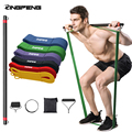 Resistance Band Men and Women Resistance Exercise Bar Exercise Equipment Fitness and Strength Training Weight Loss Fitness Bar