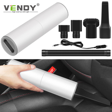 Car Vacuum Cleaner For Auto Interior Cleaning Powerful Suction Wet Dry Mini Handheld Portable Vacuum Cleaner 12V 120W 7000pa