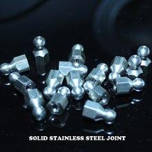 Paslanmaz çelik küresel mafsal ile M3 dişli delik
