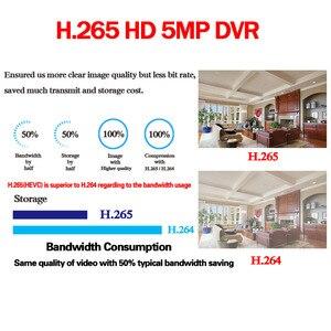 Image 5 - 16Channel DVR AHD/CVI/TVI/IP 2592*1944 5MP CCTV Video Audio Face Recorder Hybrid DVR NVR HVR 6 In 1 Security System App view PTZ
