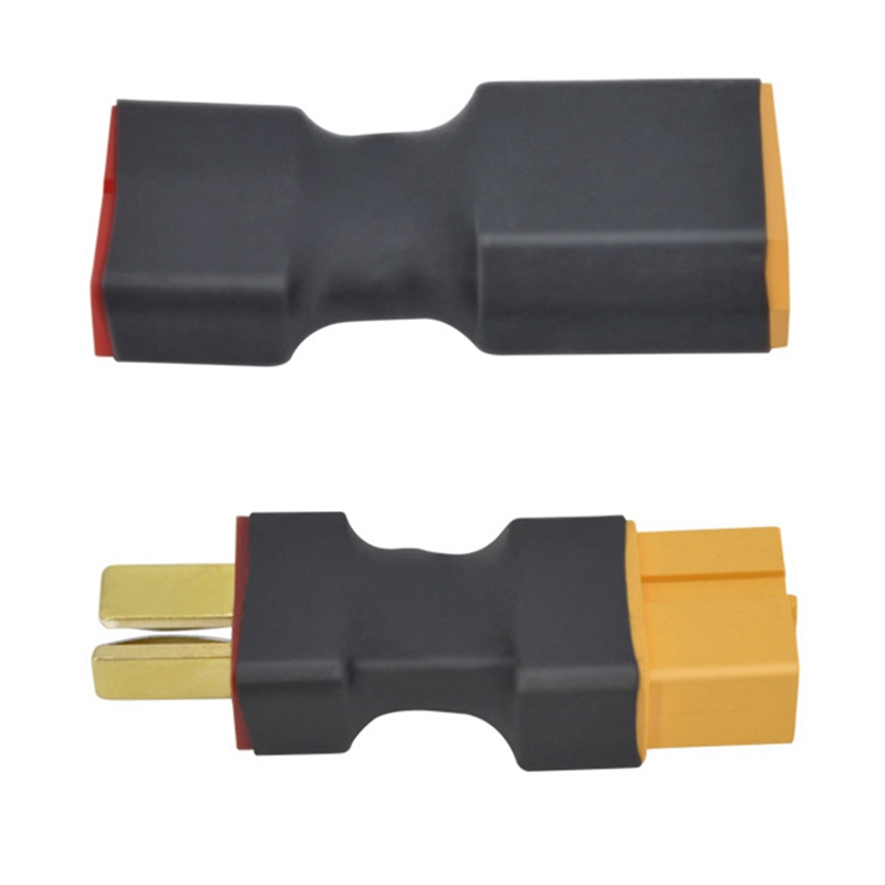 1PC T male to XT60 female Adapter Converter cable 50mm for RC Lipo Battery NEW