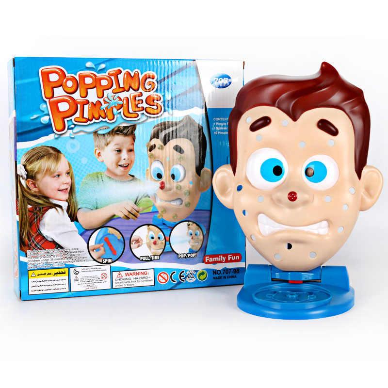 Sıkma akne masa oyunları zor oyuncaklar stres azaltmak parodi eserler yaratıcı tüm insanlar komik hediyeler
