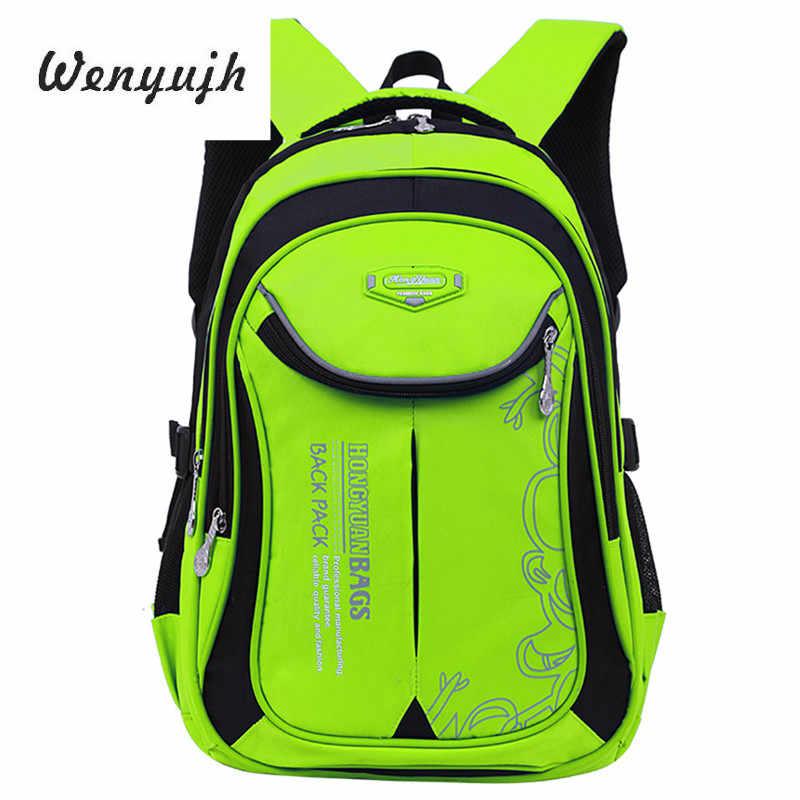 2019 водонепроницаемые детские школьные ранцы для мальчиков и девочек, детские рюкзаки, детские школьные сумки, рюкзаки для начальной школы, Mochila Infantil