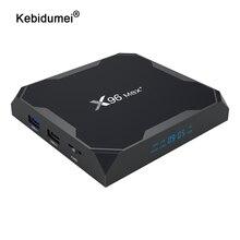 X96Maxกล่องทีวีสำหรับAndroid 9.0 S905x3 8Kสมาร์ทMedia Player 4GB RAM 32GB ROM 64GBชุดกล่องด้านบน2G16G QuadCore 2.4Gและ5G Wifi
