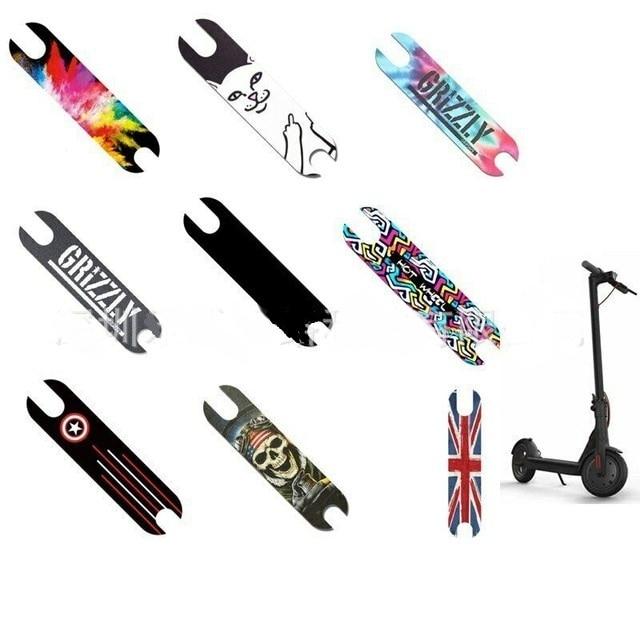 DIY Scooter Pedal Footboard Sandpaper Sticker For XIAOMI Mijia M365 Electric Skateboard Anti-slip Protective Skate Stickers Part