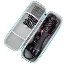 2019 yeni EVA sert taşınabilir seyahat çantası Revlon için bir adım saç kurutma makinesi ve hacim ve Styler ve aksesuarları su geçirmez çanta