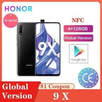 Honor 9X 4GB 128GB Smartphone Global Version Dual Caemra 48MP Triple 6.59