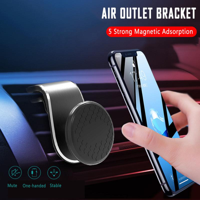 Car Phone Holder For Phone In Car Air Vent Mount Stand No Magnetic Mobile Phone Holders Universal Gravity Smartphone